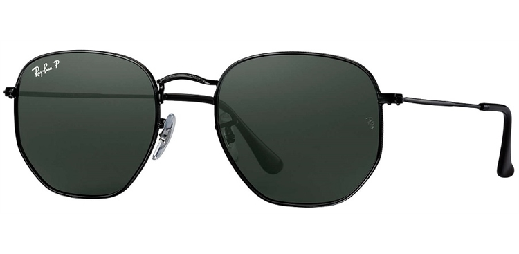 ce9ce4d7b0cd6 Ray Ban Hexagonal Prata Masculino   David Simchi-Levi